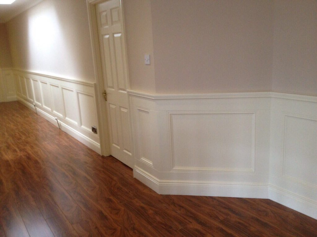 Custom panelling designed, made, installed and painted by PP Construction