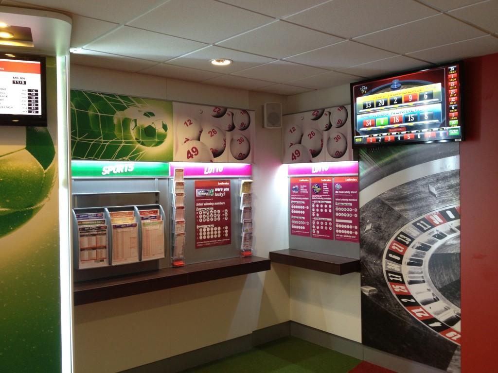 Ladbrokes Lottery and Numbers corner