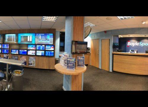 Image of Shopfitting services at Boylesports unit